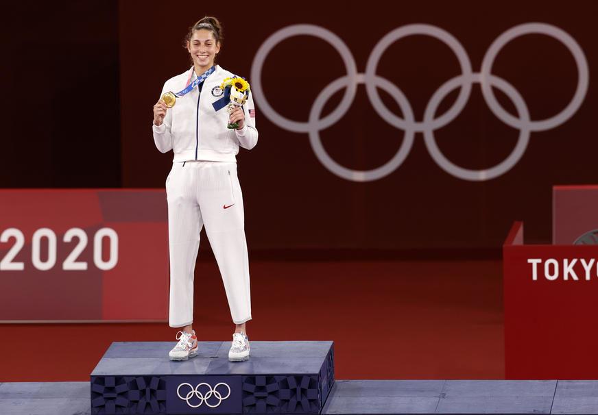ISPISALA ISTORIJU Amerikanci nikada u ovom sportu nisu imali zlato na Olimpijadi, a onda je došla Srpkinja