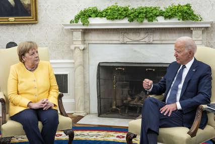"""Bajden nakon razgovora sa Merkelovom: Nemoguće zaustaviti """"Sjeverni tok dva"""""""