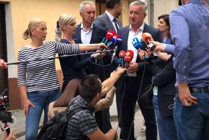 Šarović i Borenović nakon sastanka sa Palmerom o Izbornom zakonu: Za nas prihvatljiv asimetričan model