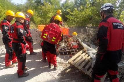 Nastavljena obuka za akcije spasavanja: Učestvuje više od 40 pripadnika Republičke uprave civilne zaštite