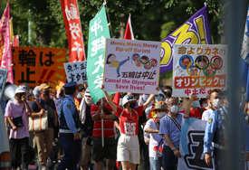 """""""NE TREBA NAM OLIMPIJADA"""" Protesti u Tokiju tokom ceremonije otvaranja"""