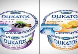 Dukat povlači sa tržišta dva voćna jogurta zbog pesticida