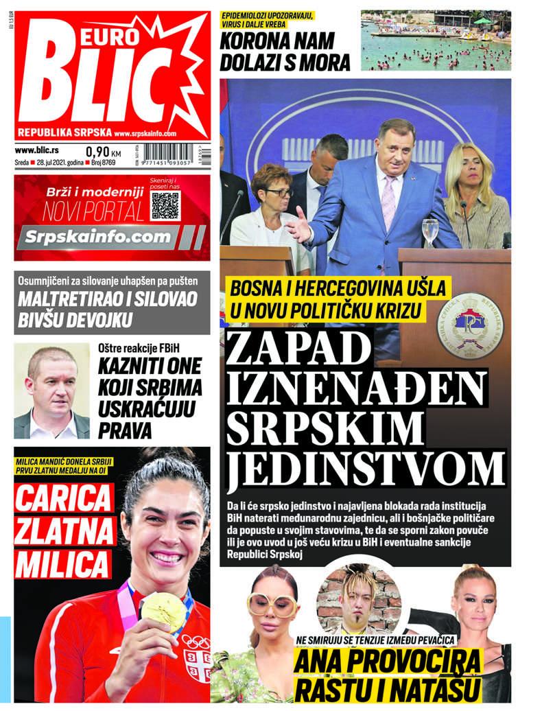 blic naslovna