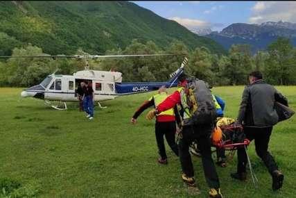KRAJ DRAME NA PROKLETIJAMA Spasioci prevezli srpskog planinara u bolnicu