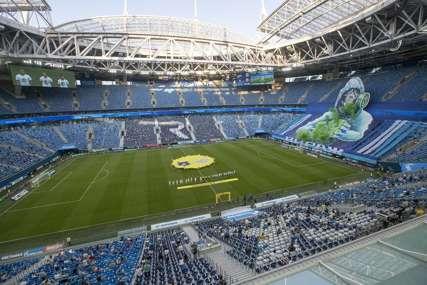 TEREN U LOŠEM STANJU Španci i Švajcarci nisu mogli da treniraju na Gazprom areni