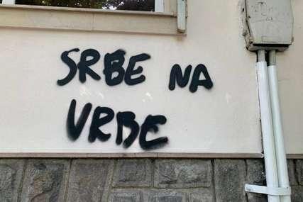 """""""SRBE NA VRBE"""" Provokacija osvanula na konzulatu Srbije u Bugarskoj"""