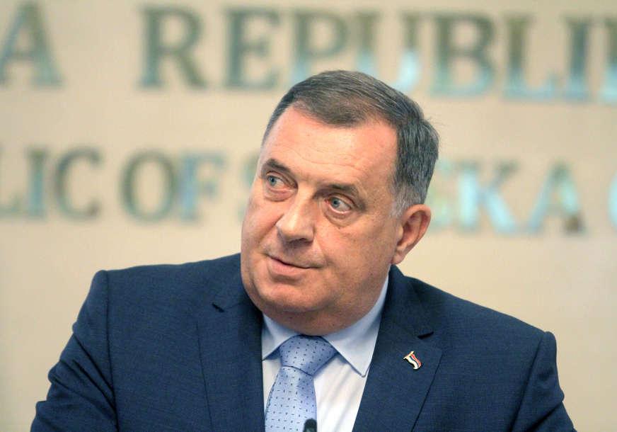 """Dodik se sam prijavio Tužilaštvu BiH """"Da ne bi bilo pregrijanih emocija i niskih strasti iz sarajevske političke kuhinje"""""""