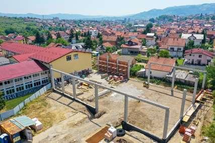 Projekat vrijedan 1.5 miliona KM: Napreduje izgradnja sportske dvorane na Laušu