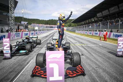 FERŠTAPEN NAJBRŽI U AUSTRIJI Iskoristio pol poziciju, Hamilton podbacio