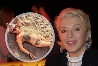 """""""KRALJICA NUDIZMA"""" Mirjana Karanović objavila fotografiju sa plaže na kojoj je potpuno gola (FOTO)"""