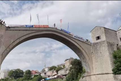 """Dragan iz Užica najbolja mostarska lasta """"Prošle godine sam se obrukao, ali sam se ove potrudio da pobijedim"""""""