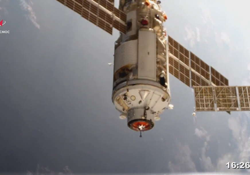 Novi ruski modul uspješno pristao na MSS