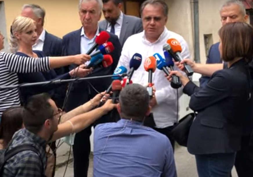 """""""Ne prihvatamo asimetrična rješenja"""" Nikšić i Konaković nakon sastanka sa Palmerom o izbornom zakonu"""