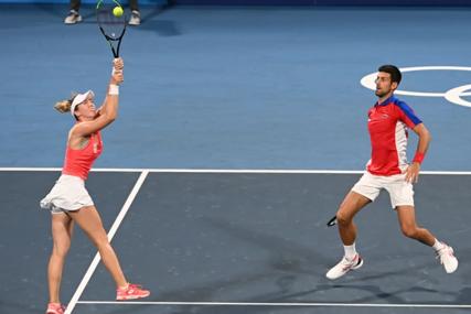 GLAVU GORE Novak i Nina izgubili ali ih očekuje meč za olimpijsku medalju