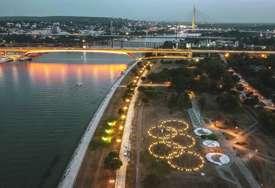 ZA SREĆU SPORTISTIMA Olimpijski krugovi zasijali u Parku Republike Srpske (FOTO)