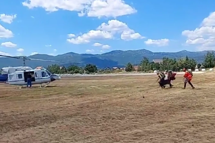 DRAMA NA PROKLETIJAMA Povređen srpski planinar, helikopter uključen u akciju spašavanja (VIDEO)