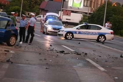 Nakon teške nesreće u Banjaluci: Stabilno zdravstveno stanje povrijeđenih u saobraćajki