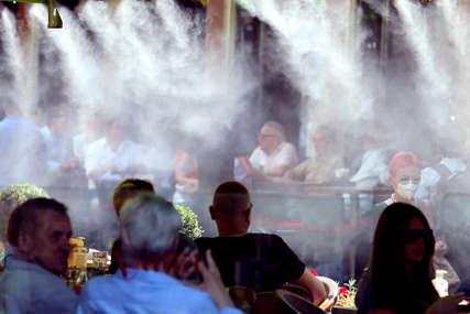 NESNOŠLJIVE VRUĆINE U Sarajevu nadmašen temperaturni rekord za juli