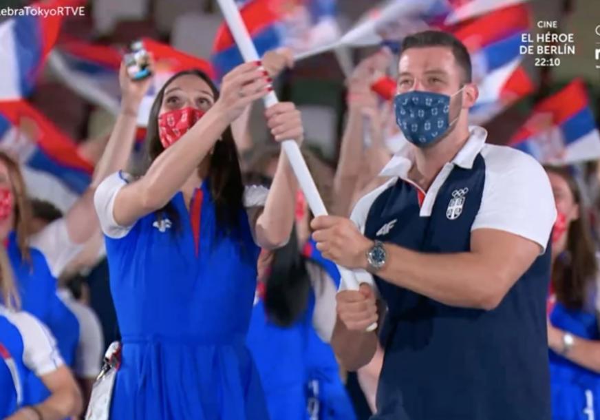 """""""NOVAK, PIKSI I RATOVI"""" Kako su Japanci predstavili Srbiju na otvaranju Olimpijskih igara"""