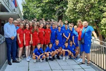SRBIJA TE ZOVE Mladi sportisti iz Republike Srpske na kampu u Beogradu