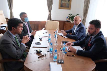 Košarac i Nelson razgovarali o aktuelnim temama u BiH: Memorandum o razumijevanju doprinijeće jačanju ekonomske saradnje