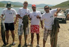 """Tradicionalna """"Somovijada"""" u Bileći: Najbolja ekipa ulovila oko 17 kilograma ribe"""