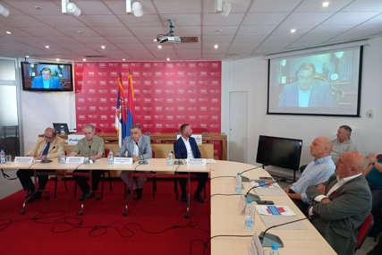 Dodik na tribini u Beogradu: Ideja Republike Srpske mora da ostane čista