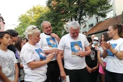 """Treći dan protesta zbog pogibije malog Stefana """"Nećemo se skloniti dok odgovorni ne bude kažnjen"""""""