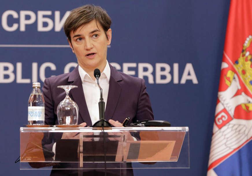 """""""Nijedna vakcina još nije registrovana za treću dozu"""" Brnabićeva tvrdi da nema potrebe da se odluka o tome donese prije 1. avgusta"""