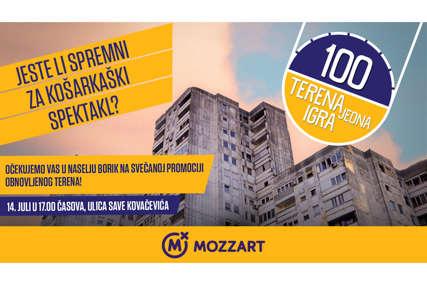 NOVA OAZA POD OBRUČIMA Naselje Borik u Banjaluci dobija košarkaški teren posvećen Slađani Golić!