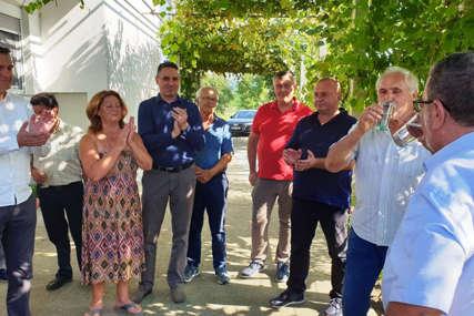 Stigla voda u derventska naselja: U izgradnju vodovodne mreže uloženo 425.000 KM