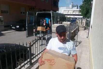 Pomoć Narodnoj kuhinji: Crveni krst donirao hranu za socijalno ugrožene
