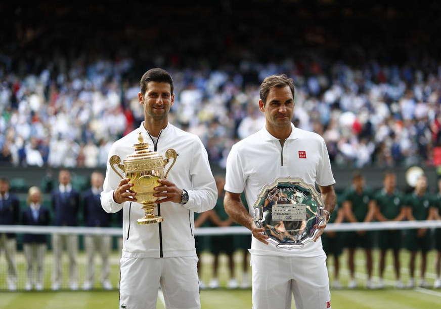 RESPEKT ŠAMPIONA Đoković se zahvalio Federeru (FOTO)
