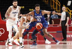 SENZACIJA Francuska savlada SAD na startu košarkaškog turnira