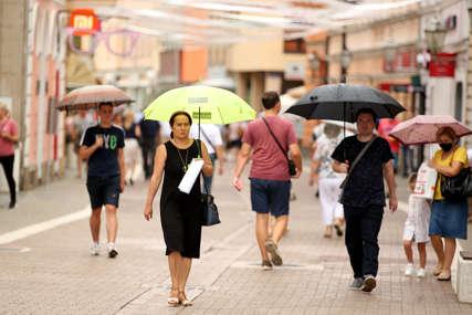NE ZABORAVITE KIŠOBRAN Danas u BiH kišovito i svježije, temperatura do 23 stepena