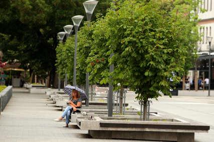 GORI ŽUTI METEOALARM Na snazi upozorenje zbog visoke temperature za ova područja u BiH