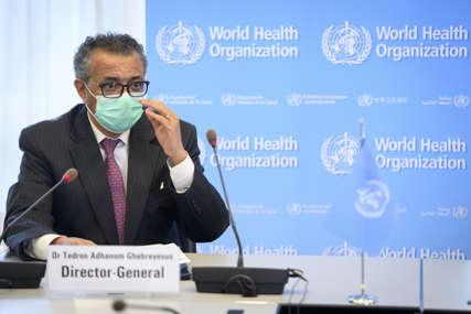 Šef SZO iznosi nimalo optimistične prognoze: Pandemija je test koji svijet pada
