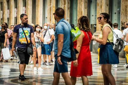 Pozitivno još 2.072 ljudi: Od korone u Italiji umrlo sedam osoba