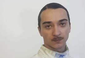 Na fakultetu ostvario dječački san: Luka Kukurić prvi mačevalac u Trebinju