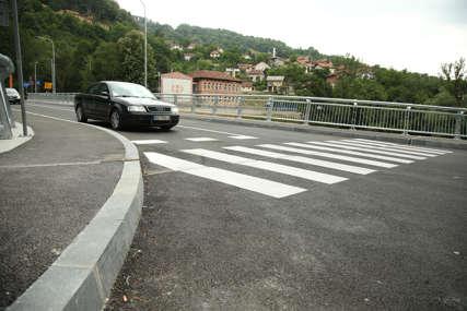 """Iz """"Kozaraputeva"""" o kritikama: Rampe na mostu u Toplicama nema iz bezbjednosnih razloga (FOTO)"""