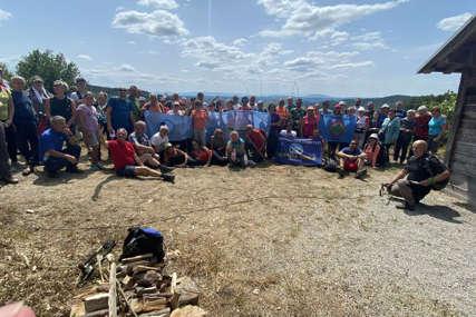Prvi planinarski kamp u Novom Gradu: Organizovana šetnja Novskom planinom