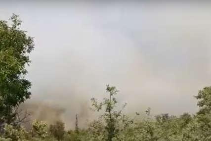 NEMA OTVORENOG PLAMENA Požar u blizini Neuma pod kontrolom, biće potpuno ugašen do jutra