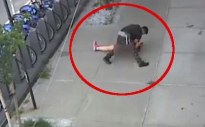 Pokušaj silovanja usred bijela dana: Muškarac zaskočio djevojku na ulici, policija traga za njim (VIDEO)