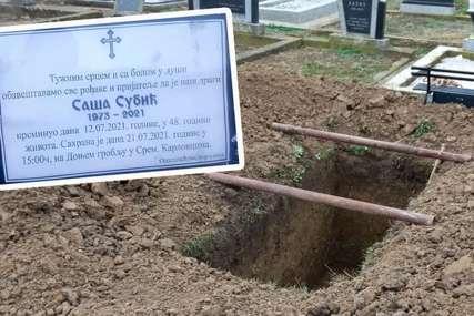 """Ko je kriv zbog bizarne sahrane još se ne zna: """"Isus"""" je živ, Saša u pogrešnom grobu, porodice u potpunom šoku"""