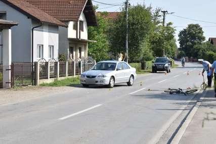 Stradao maloljetni biciklista: Teška saobraćajna nesreća u Prijedoru