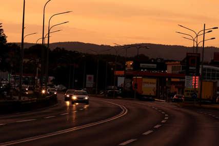 Zbog saobraćajne nesreće na magistralnom putu Foča - Novo Goražde saobraćaj se odvija JEDNOM TRAKOM