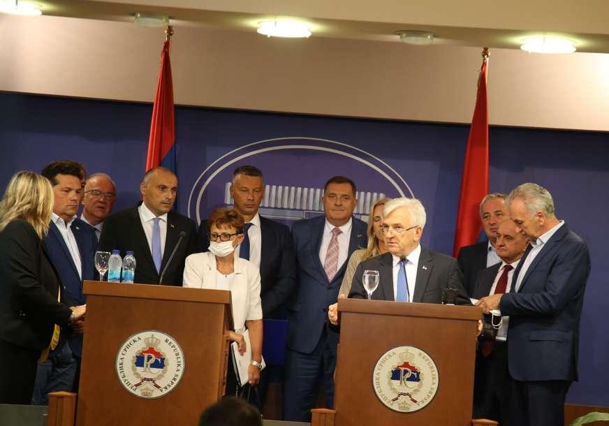 """""""Ovo je proces koji je počeo i koji će trajati"""" Čubrilović nakon sastanka predsjednika parlamentarnih stranaka"""