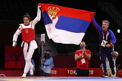 SLAVLJE U TOKIJU Đoković pokazao kako su se u timu Srbije radovali zlatu (VIDEO)
