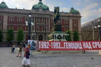 """U Beogradu postavljen """"zid plača"""" u znak sjećanja na srpske žrtve"""