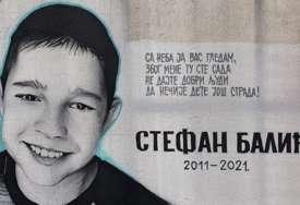 """""""Dobri ljudi, ne dajte da nečije dijete još strada"""" Mali Stefan (9) koji je poginuo u saobraćajnoj nesreći, dobio mural"""